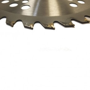 Нож для мотокосы с победитовыми напайками 40 зубов, дополнительные лезвия, универсальная посадка
