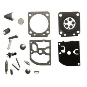 Ремкомплект карбюратора с металлическими частями для мотокосы STIHL FS38, FS45, FS55, FS 56 тип 2
