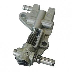 Маслонасос регулируемый для бензопил недорогих марок модели 4500, 5200