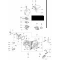 Крышка защиты цилиндра бензопила OLEO-MAC 937, 941С, EFCO 137, 141