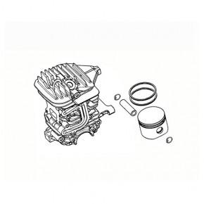 Поршневая бензопила OLEO-MAC GS44, EFCO MT440, диаметр 42мм