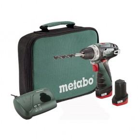 Шуруповерт электрический аккумуляторный METABO PowerMaxx BS