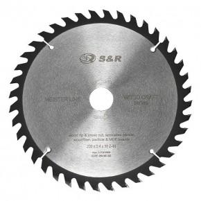 Диск пильный S&R Meister Wood Craft 230x30x2,4мм 40 зуб