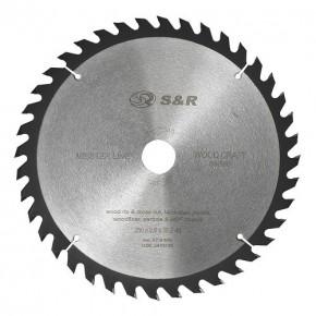 Диск пильный S&R Meister Wood Craft 250х30х2,6мм 40 зуб