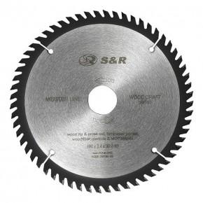 Диск пильный  S&R Meister Wood Craft 190x30x2,4мм, 60 зуб.