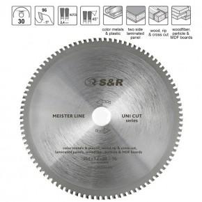 Диск пильный S&R Meister UniCut 254x30х3,2мм