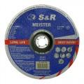 Круг зачистной по металлу S&R Meister A 24 R BF 230x6,0x22,2