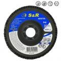 Круг зачистной лепестковый S&R Meister 125x22.2, Z40