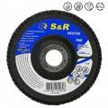 Круг зачистной лепестковый S&R Meister 125x22.2, Z60