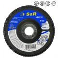 Круг зачистной лепестковый S&R Meister 125x22.2, Z100