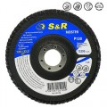 Круг зачистной лепестковый S&R Meister 125x22.2, Z120