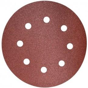 Шлифовальный круг на липучке S&R D190 P120