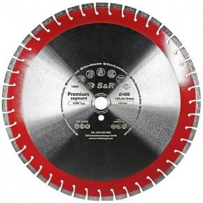 Диск алмазный сегментный S&R Premium Segment 400х25,4 мм