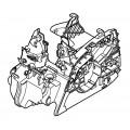 Картер двигателя STIHL MS181, MS211