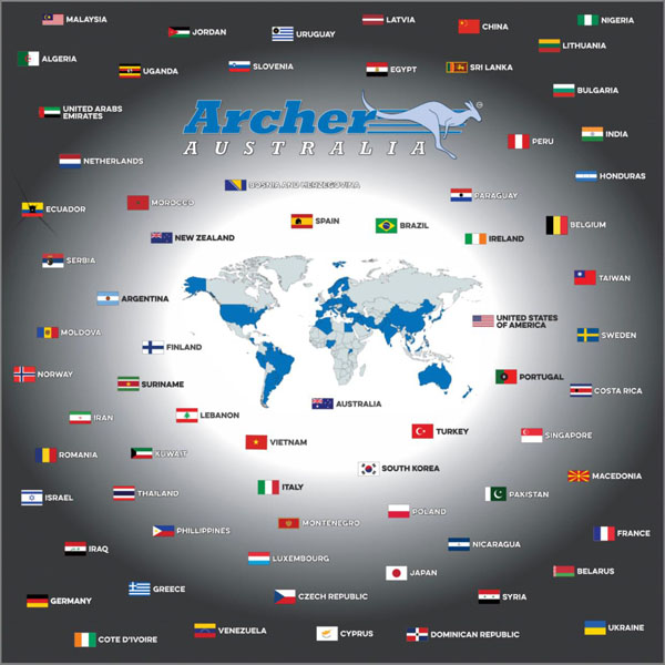 archer flag pickture